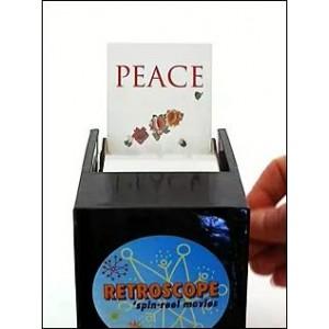 Jouet Optique : Peace Heart Rétroscope