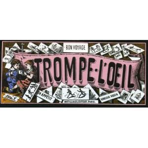 Jouet Optique : TROMPE-L'OEIL - Coffret de 12 Thaumatropes