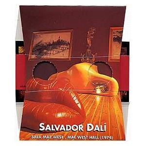 Stereoscope : Salvador DALI - Mae West Hall (1974)