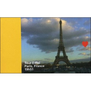 Flipbook : 19h51 - La Tour Eiffel - Paris France