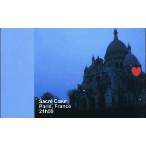 Flipbook : 21h59 - Le Sacré-Coeur - Paris France