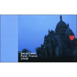 Flipbook : 21h59 - Le Sacré-Coeur - Paris France