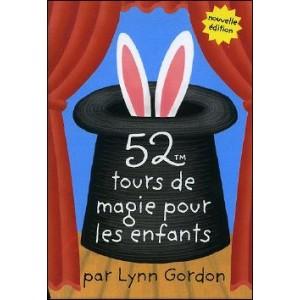 Jeu : 52 tours de magie pour les enfants