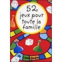 Jeu : 52 jeux pour toute la famille