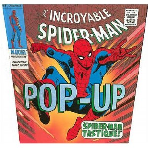 Book : The Amazing SPIDER-MAN Pop-Up