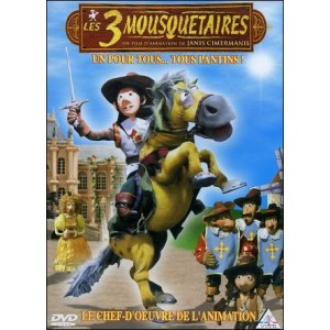 DVD : THREE MUSKETEERS