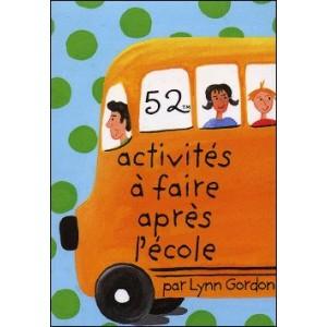 Game : 52 activités à faire après l'école (52 After-School Activities)