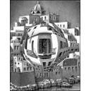 Stéréoscope : ESCHER - BALCONY (1945)