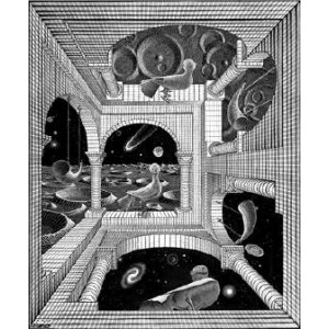 Stereoscope : ESCHER - OTHER WORLD (1947)
