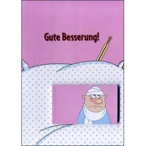 Flipbook - Greetings Card : LOOK AFTER YOURSELF ! (Gute Besserung !)