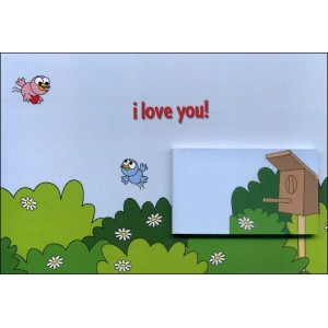 Flipbook - Greetings Card : I LOVE YOU !