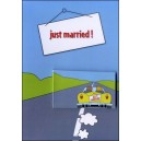 Flipbook - Carte de Voeux : JUST MARRIED !