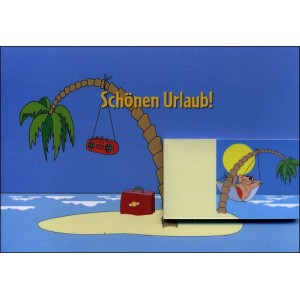 Flipbook - Greetings Card : HAPPY HOLIDAYS ! (Schönen Urlaub !)