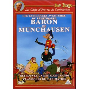 DVD : The Adventures of BARON MUNCHAUSEN