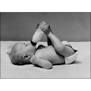 Stéréoscope : THIRSTY BABY