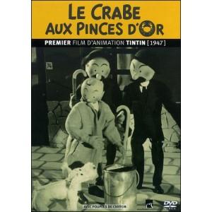 DVD : TINTIN ET LE CRABE AUX PINCES D'OR