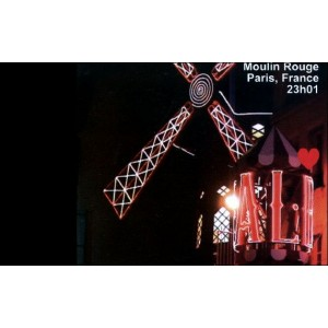 Flipbook : 23h01 - Le Moulin Rouge - Paris France