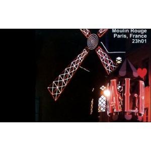 Flipbook : 23h01 - Le Moulin Rouge - Paris France