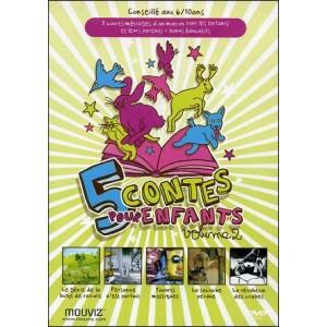 DVD : 5 contes pour enfants - Vol 2