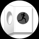 CP : L'HOMME QUI COURT - A SmartMove Scanimation™ Card