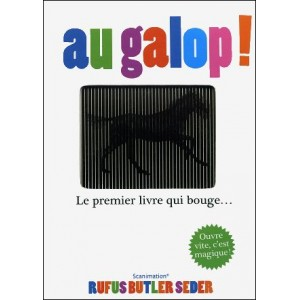 Book : GALLOP ! A Scanimation Picture Book