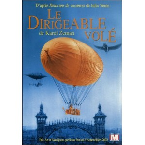 DVD : THE STOLEN AIRSHIP (Le Dirigeable Volé)