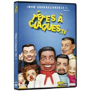 DVD : TAC.TV (TÊTES À CLAQUES) - Vol 1