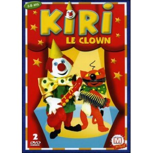 DVD : KIRI LE CLOWN - Box set 2 DVD