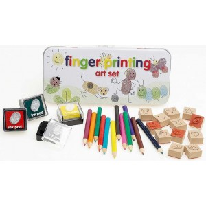 Toy : FINGER PRINTING ART SET
