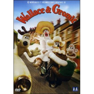 DVD : WALLACE & GROMIT - 4 incroyables et rocambolesques aventures