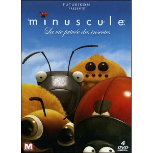 DVD : MINUSCULE - Private life of the insects - Integral 4 DVD