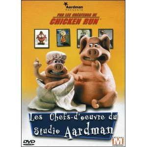 DVD : AARDMAN Studios - The Masterpieces