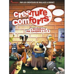 DVD : CREATURE COMFORTS - The Complete seasons 1 and 2