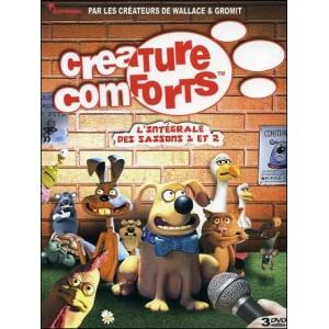 DVD : CREATURE COMFORTS - L'intégrale des saisons 1 et 2