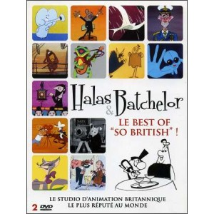 "DVD : HALAS & BATCHELOR - Le Best Of ""SO BRITISH"" !"