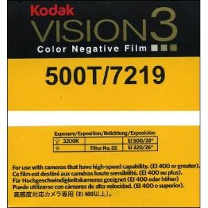 Super 8 : Chargeur KODAK VISION 3 - 500T / 7219