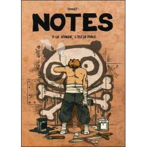 Comics : BOULET - Notes 3 - LA VIANDE C'EST LA FORCE