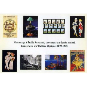 Postcards : TRIBUTE TO ÉMILE REYNAUD - 9 postcards