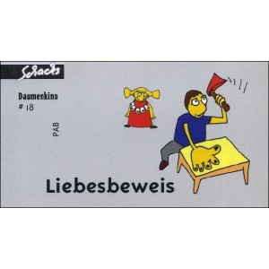 Flipbook : 5 PREUVES D'AMOUR (Liebesbeweis)