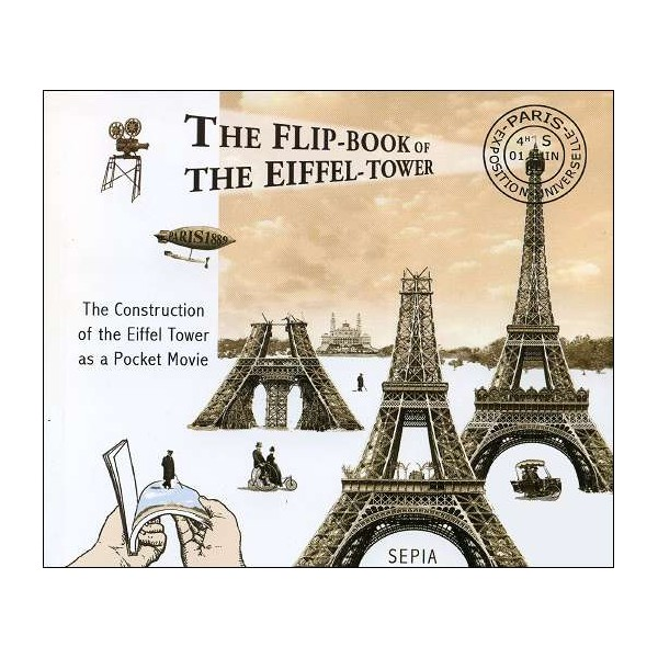 Flipbook The Flip Book Of The Eiffel Tower