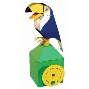 Jouet : Le Toucan Mécanique