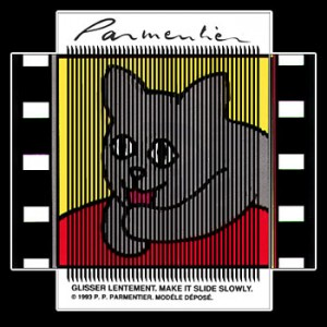 Postcard : THE CAT