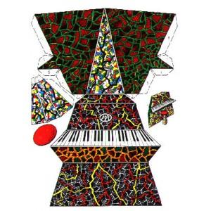 CP : LE PIANO À DÉCOUPER