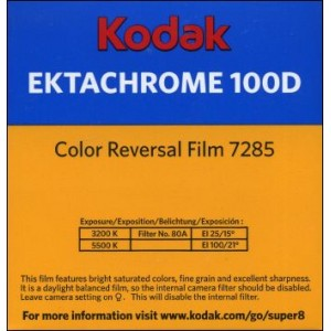 Super 8 : KODAK EKTACHROME 100D Color Reversal Film 7285