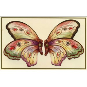 Postcard : KISSING BUTTERFLIES CARD