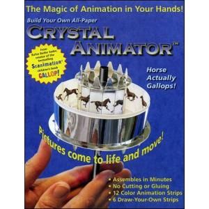 Jouet Optique : Praxinoscope de papier CRYSTAL ANIMATOR™