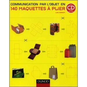 Book : 140 MAQUETTES À PLIER - Communication par l'objet