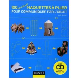 Livre : 100 nouvelles MAQUETTES À PLIER - Communication par l'objet