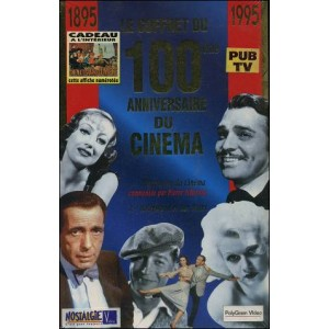 VHS : 1895-1995 : LE COFFRET DU 100ème ANNIVERSAIRE DU CINÉMA