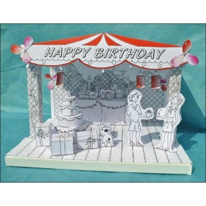 Toy : LITTLE PAPER THEATER - HAPPY BIRTHDAY